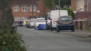 The man was discovered lying in Brayfield Road