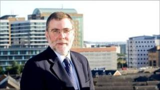 Social Security Minister Nelson McCausland