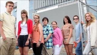Lowestoft Sixth Form College pupils