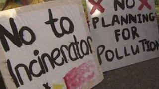 Thousands of people have objected to the incinerator