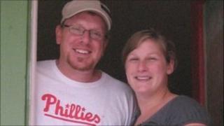 Christina Grodkiewicz and her husband Steve Smith