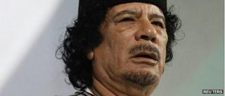 Muammar Gaddafi, 2010