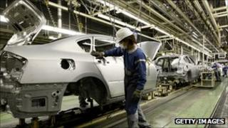 Japanese car factory