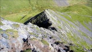 Sharp Edge on Blencathra. Photo: Phil Riley