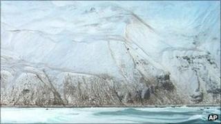 2004 US Coast Guard file picture of Aleutian island coastline