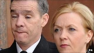 PC David Rathband and his wife Kath