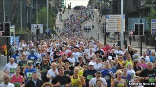 The 2011 Great Scottish Run, picture courtesy of Andrew Noller