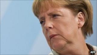 German Chancellor Angela Merkel (file image)