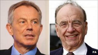 Tony Blair, Rupert Murdoch