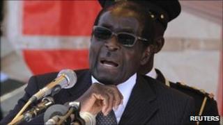 President Robert Mugabe (August 2011)