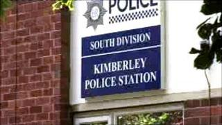 Main entrance to Kimberley Police Station