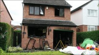 Ludlow house fire