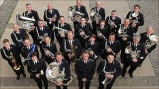West Yorkshire Police band