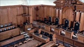 Inside court one at the Old Bailey
