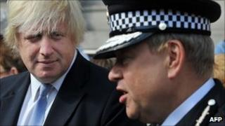 Boris Johnson and Tim Godwin