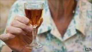 Sherry drinker
