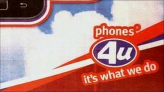 Phones 4 U advert
