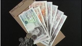 British currency notes and coins