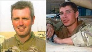 Sgt Andrew Jones and Trooper Andrew Howarth