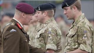 Soldier receives medal