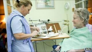 Nursing home (file pic)
