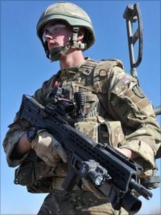 Fusilier Jody Herkes