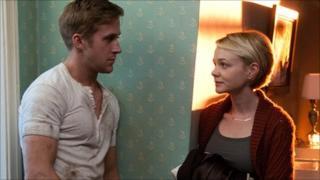 Ryan Gosling (Driver) & Carey Mulligan (Irene) in Driver