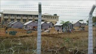 Camp in Vavuniya, Sri Lanka, Human Rights Watch file pic from 2009