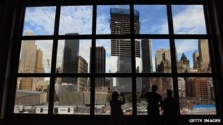 Construction work near Ground Zero