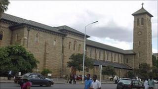 Harare's Anglican cathedral