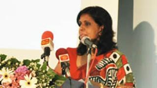 NCPA head Anoma Dissanayake