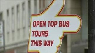 The complaints are directly related to bus tours
