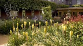 Time Garden at Frimley Park Hospital