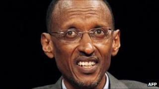 Paul Kagame in Paris - 11 September 2011