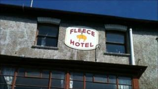Fleece Hotel, Gloucester