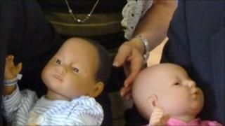 """The """"virtual baby simulators"""" that have been donated to NSPCC Pathways in Jersey"""