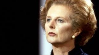 Margaret Thatcher photographed in 1981