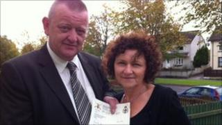 Billy McGreanery and Marjorie Roddy