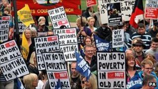 Pensions strike in June