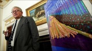 David Hockney at the Royal Academy
