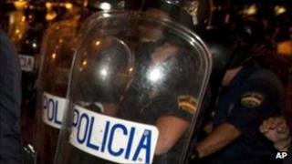 Spanish police. File photo
