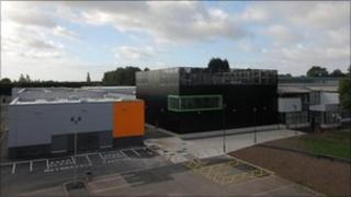 North East Worcestershire college's new arts and technology centre.