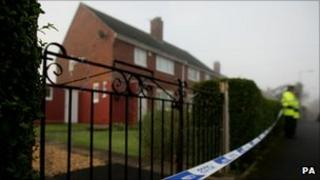 House in Preston in which baby and father was found