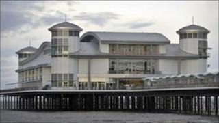 The new Grand Pier at Weston-super-Mare