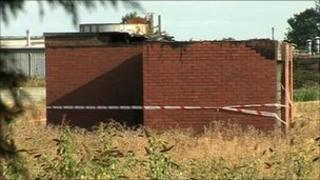 Substation in Hull which went a blaze