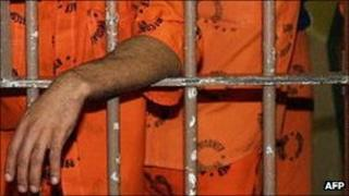 Prisoners behind bars in South Africa (archive shot)