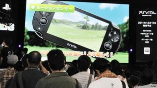Sony show off the Vita