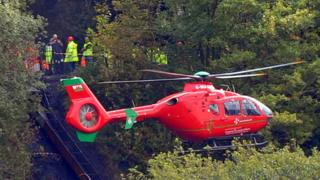 Rescue operation at Gleision Colliery