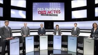 France's Socialist Party primary election candidates