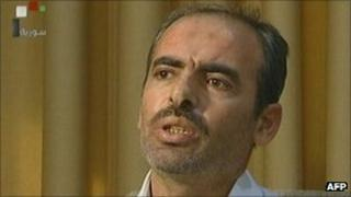 Lt Col Hussein al-Harmoush on Syrian TV, 15 Sept